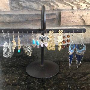 Fashion Earrings 8 Pairs - Lot #4